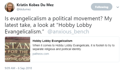 Kristin Kobes Du Mez twitter