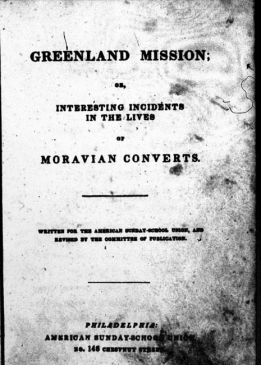 Greenland mission ss union title page